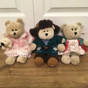 3 Starbucks Holiday Barista Bears 2006, 2016, 2017